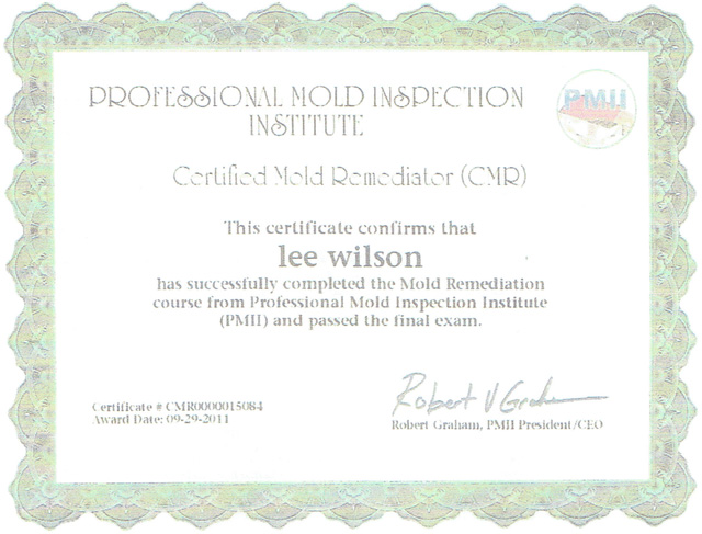 Professional-Mold-Inspection-Institute